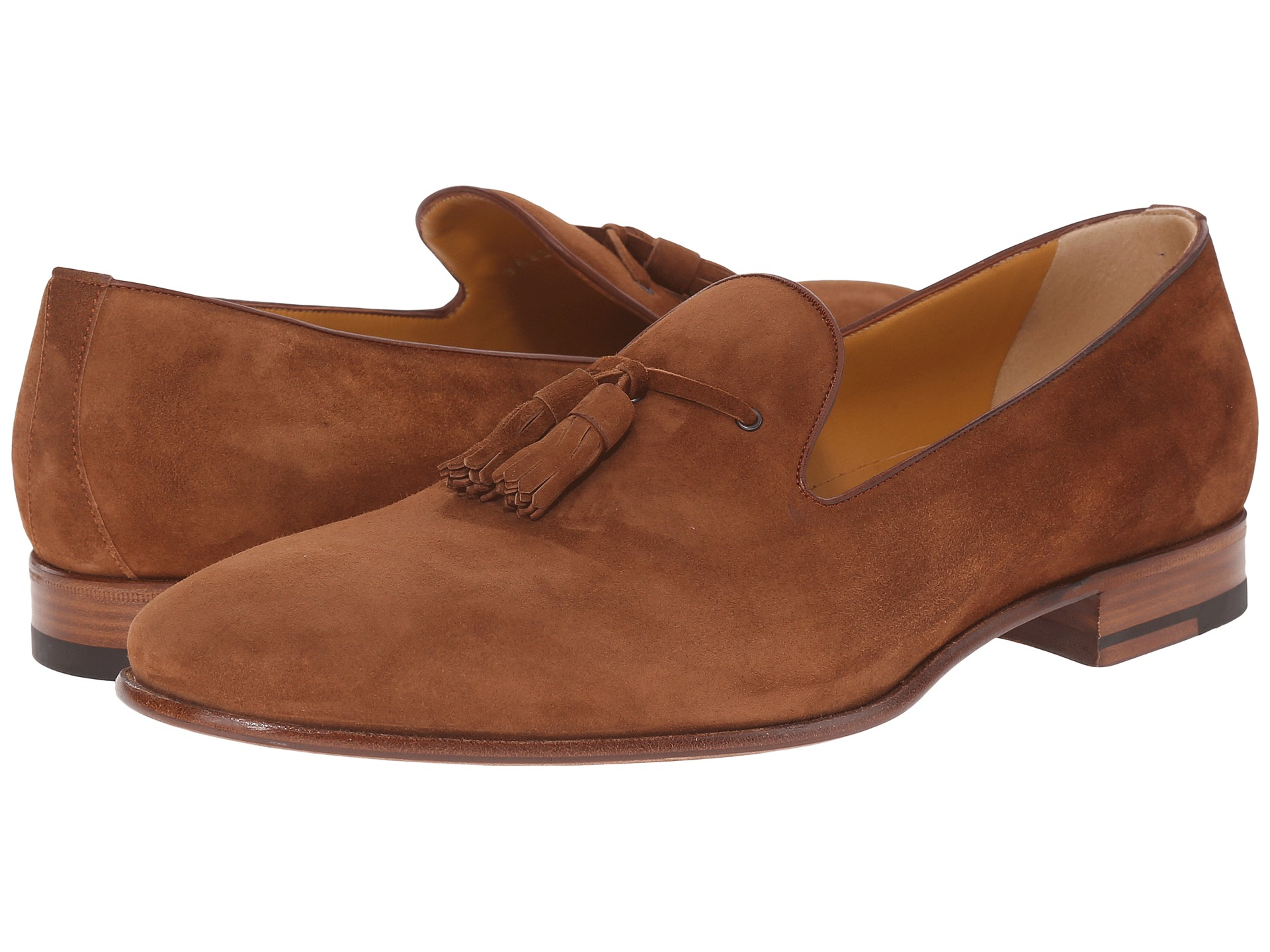 58ee884451a Lyst - A.Testoni Deluxe Suede Tassle Loafer in Brown for Men