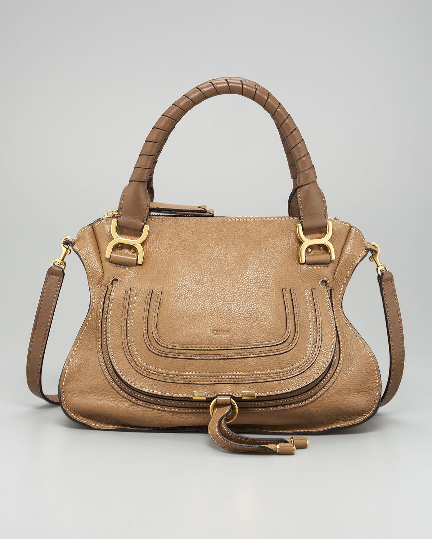cloie bags - chloe two-tone medium marcie satchel, chloe bag