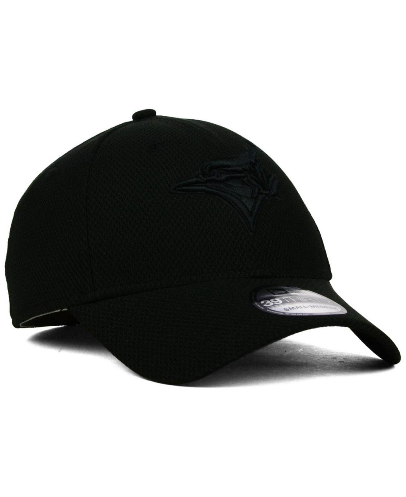 Lyst - KTZ Toronto Blue Jays Black Diamond Era 39Thirty Cap in Black ... b84d165a76f