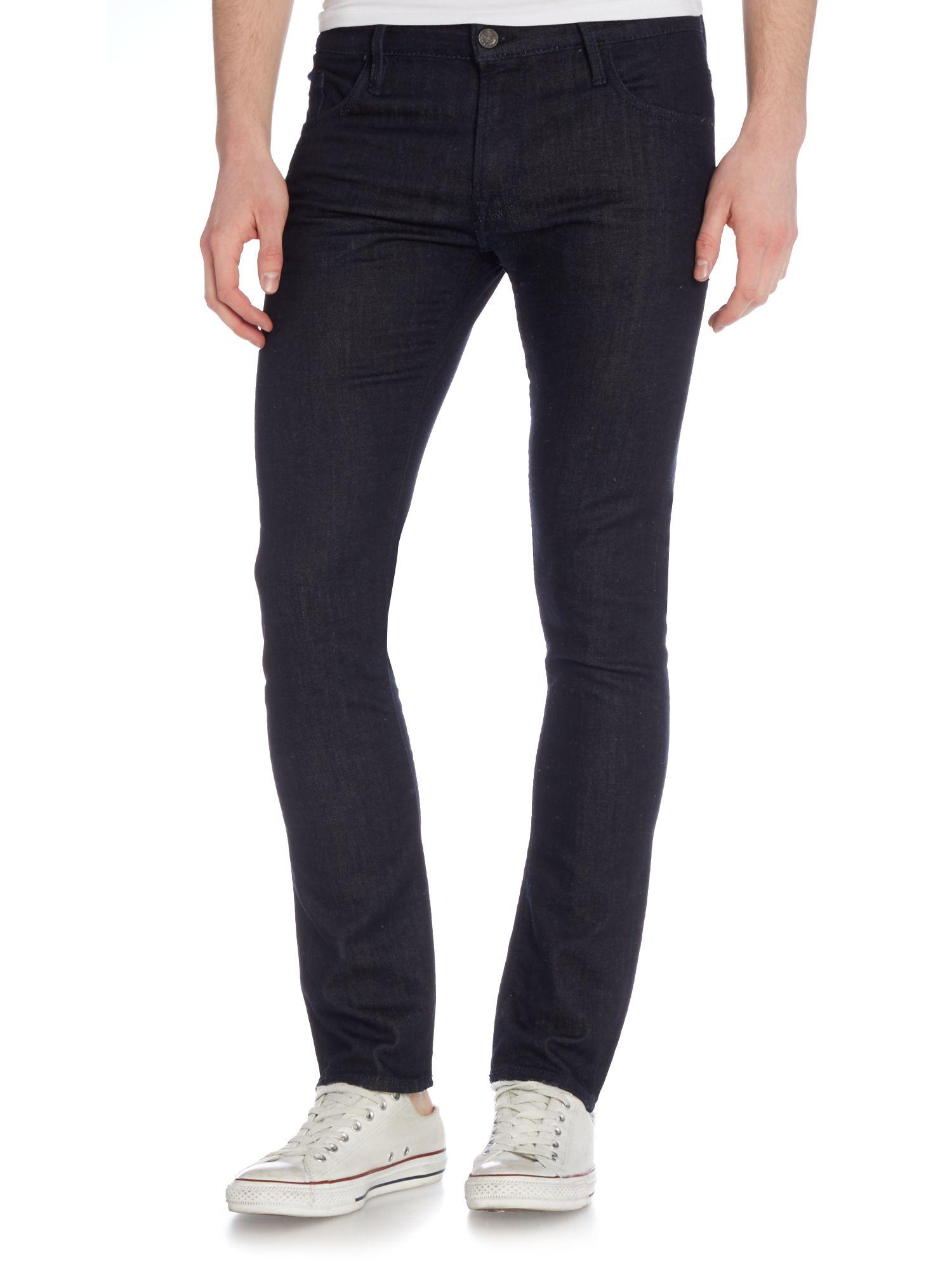 hugo boss orange 25 black rigid jeans black. Black Bedroom Furniture Sets. Home Design Ideas