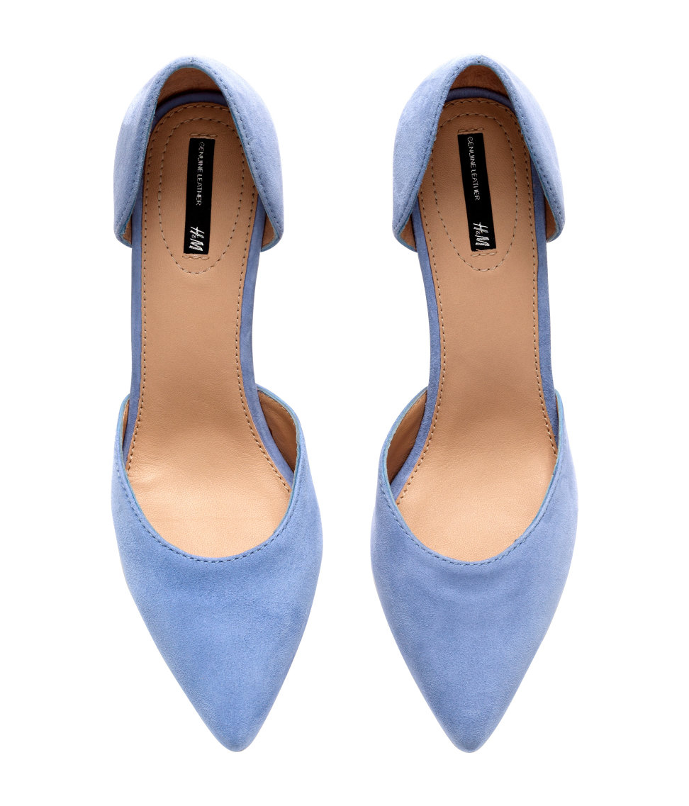 Blue Suede Shoes With Black Soles
