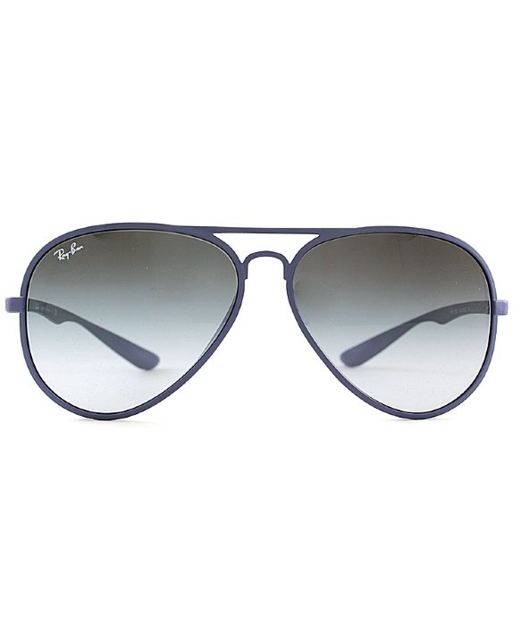 37a5c81bd66 ... buy lyst ray ban ray ban tech rb4180 liteforce aviator 883 8g matte  fac03 1f692