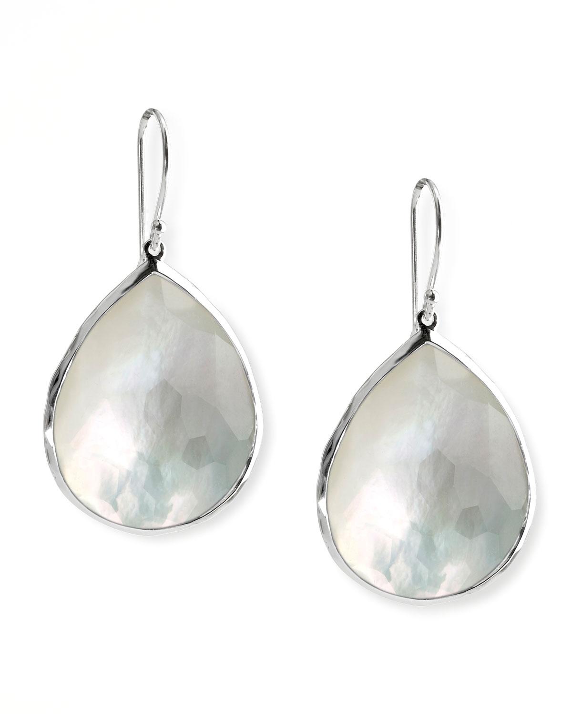 Ippolita Mother Of Pearl Teardrop Earrings In Metallic Lyst