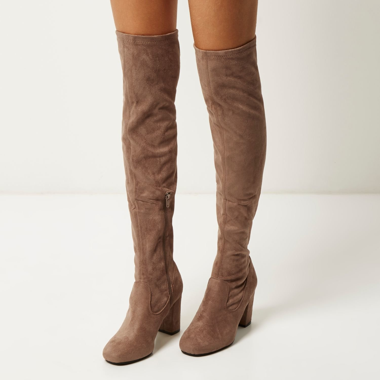 Over The Knee Boots Dressed up or down, over-the-knee boots, or OTKs, are a cold-weather fashion staple. Give your look a little oomph — we've got hot options from Cole Haan, COACH, Donald J. .