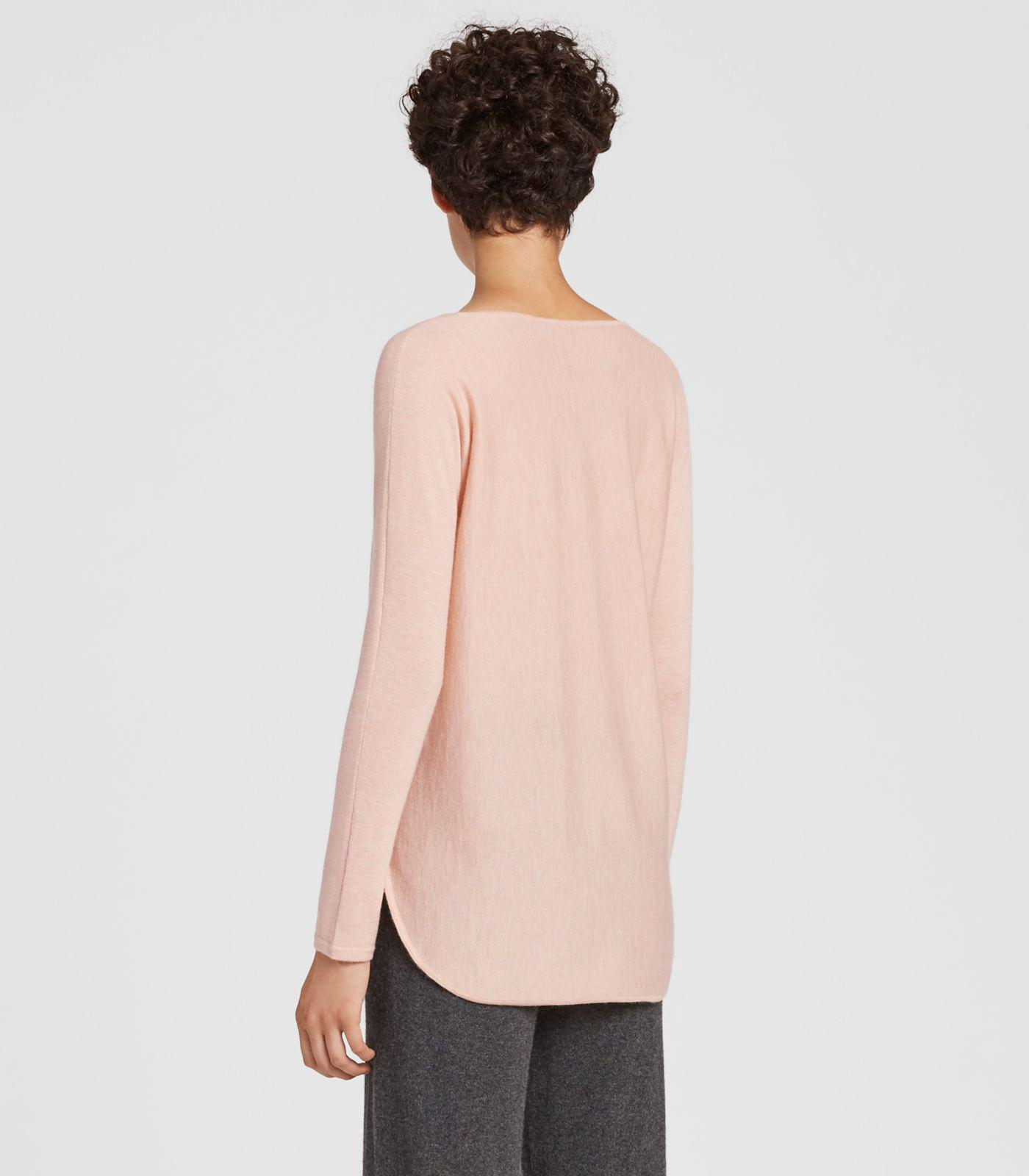 c5a022df215172 Eileen Fisher - Multicolor Featherweight Cashmere Tunic - Lyst. View  fullscreen