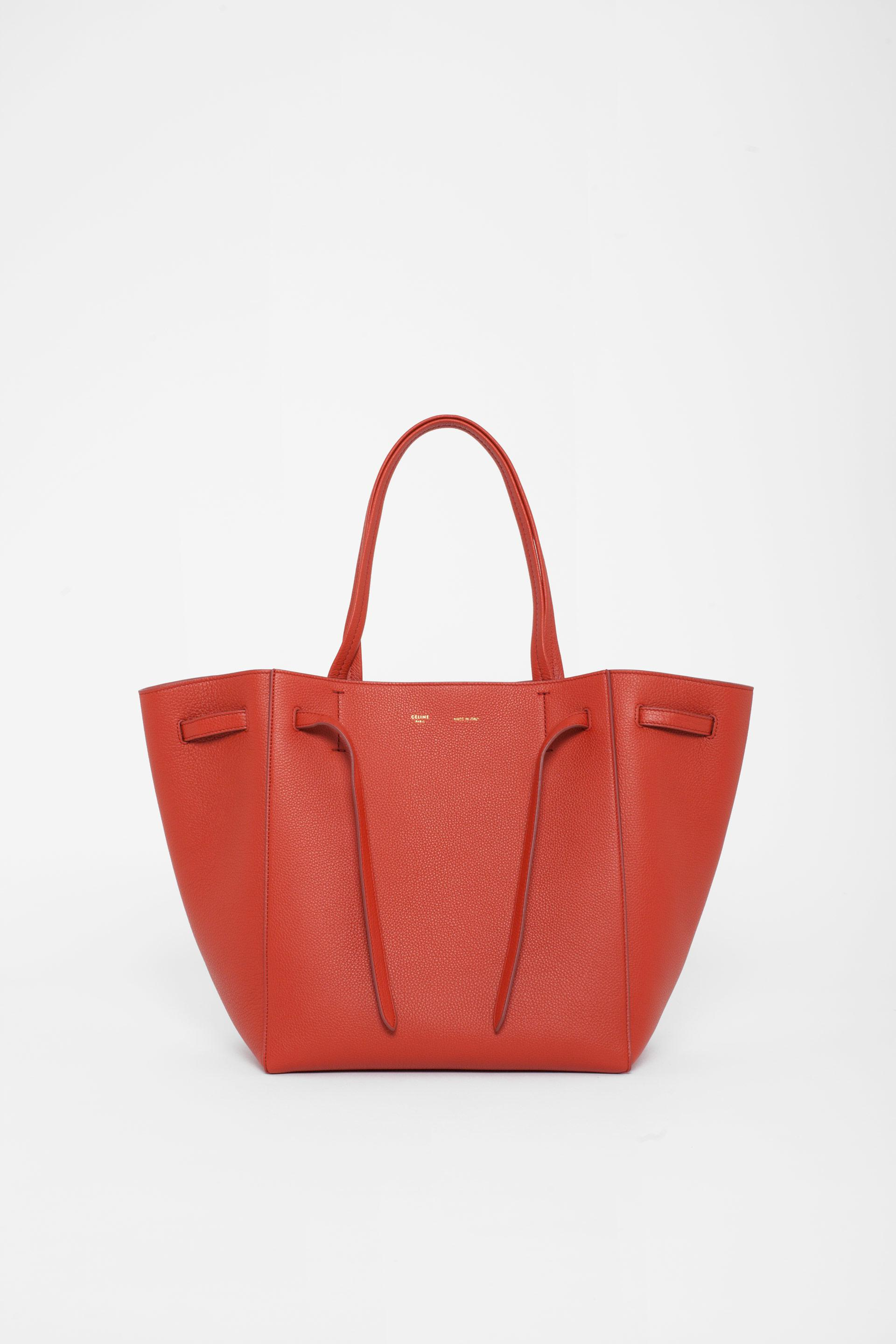 3e752dd0c3 Céline Small Cabas Phantom in Red - Lyst