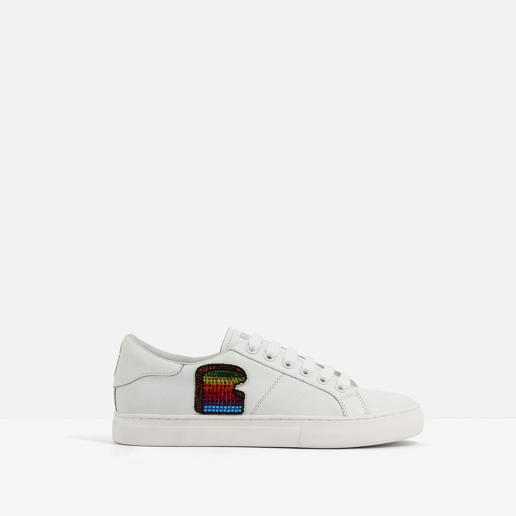 9e373bcbd Marc Jacobs Empire Toast Sneakers in White - Lyst