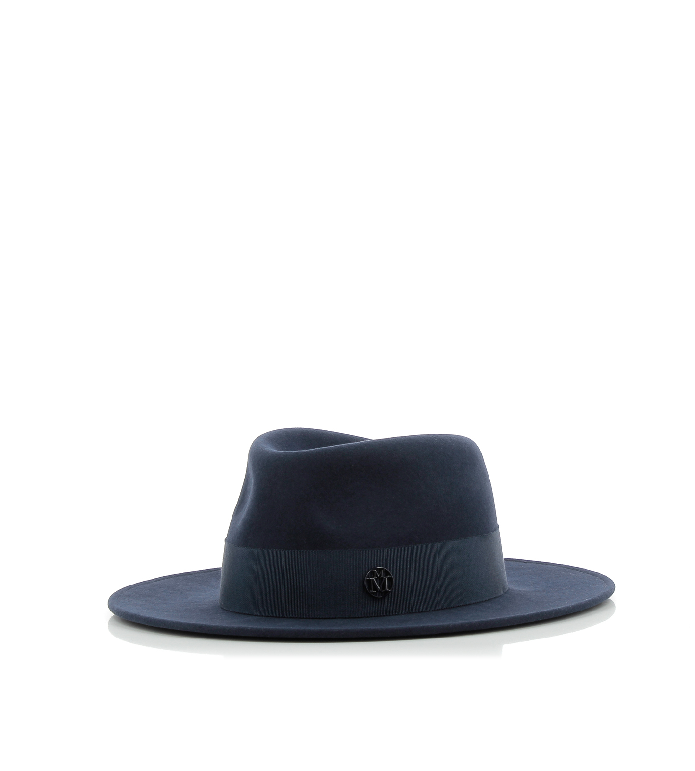 Lyst maison michel thadee hat in black for Maison michel