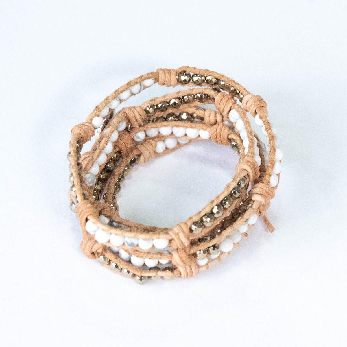 c484081f2828 Lyst - Elaine Turner Ayla Bracelet In White