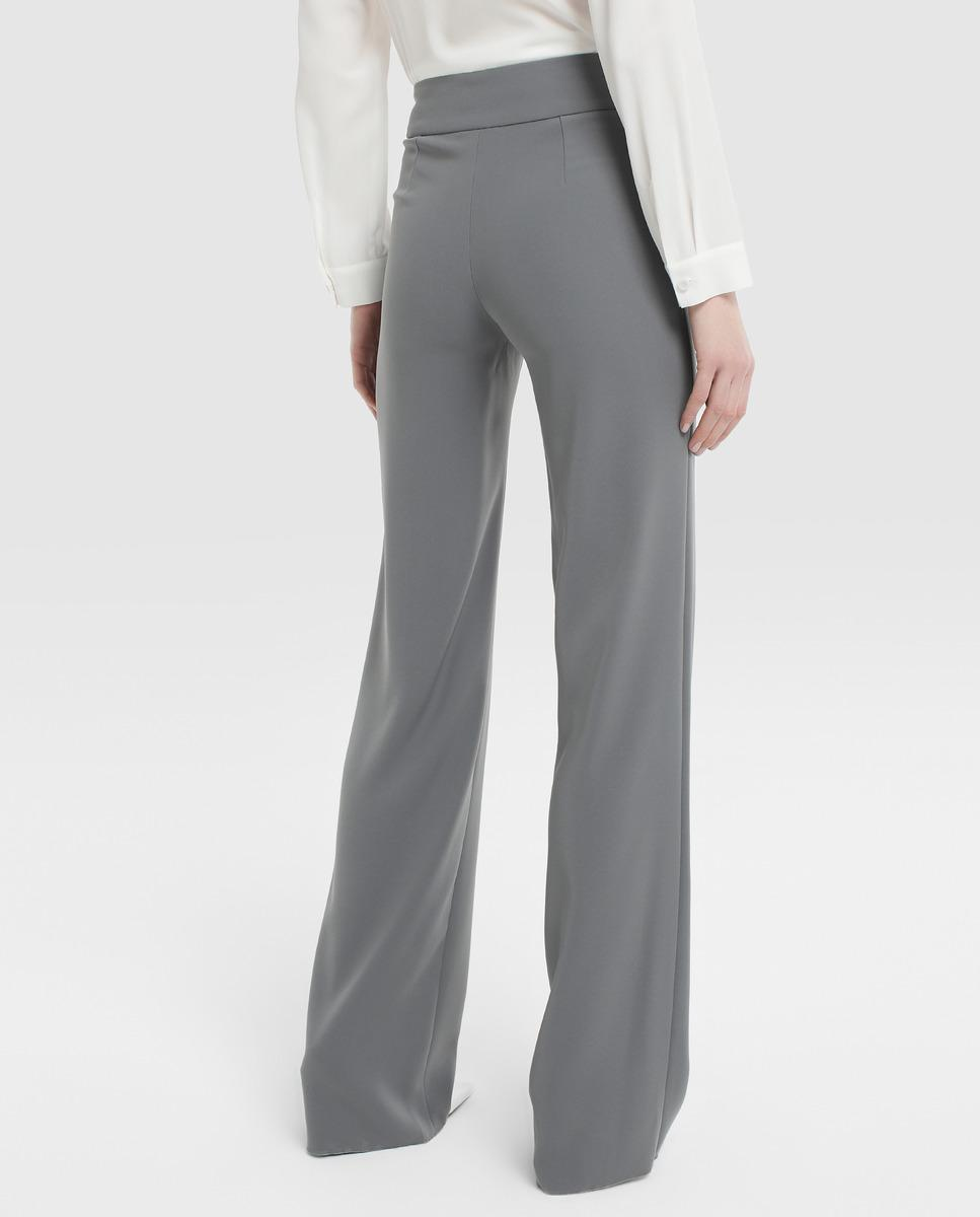 e40c33a498 Lyst - Emporio Armani Fluid Trousers in Gray