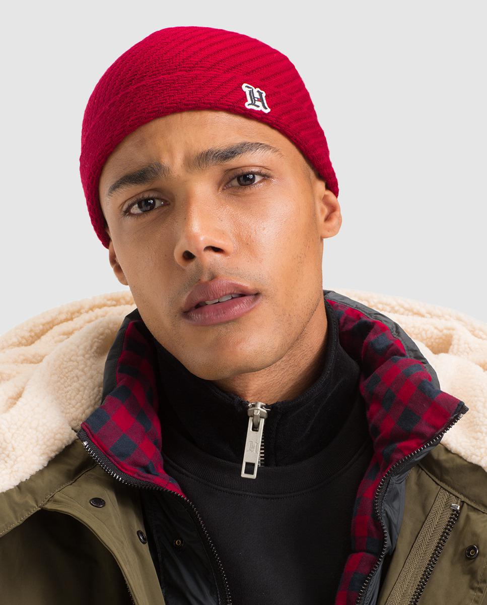 ec1bc0a8e37 Lyst - Tommy Hilfiger Lewis Hamilton Red Wool Hat in Red for Men