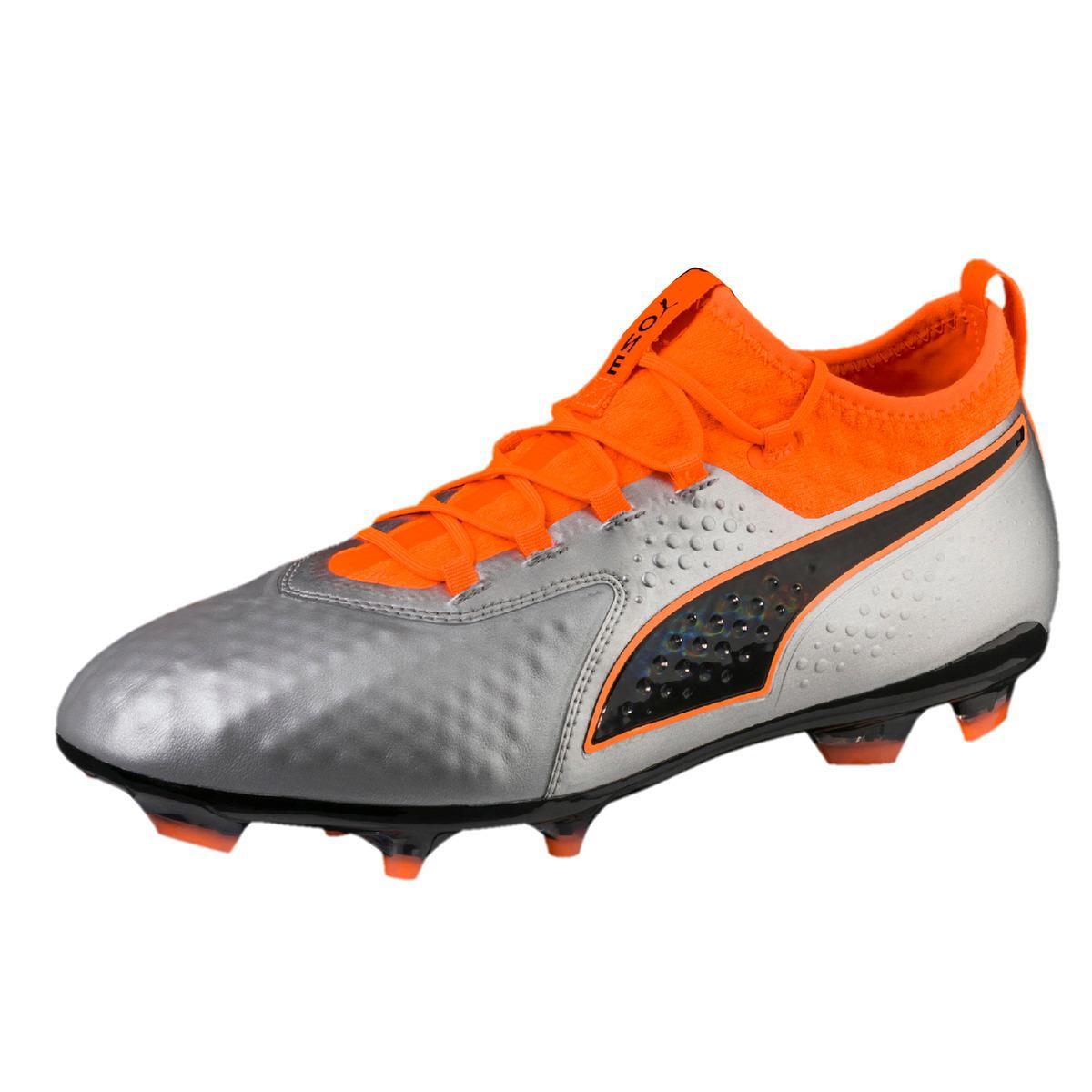 8efa0b23d2f Puma One 2 Lth (ag) Football Boots in Orange for Men - Lyst