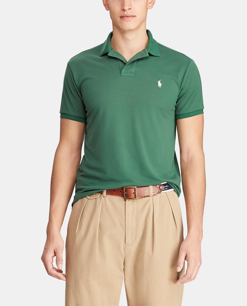 78b29d1663 Polo Ralph Lauren. Men's Earth Regular Fit Green Short Sleeve Piqué Polo  Shirt. £91 From El Corte Ingles