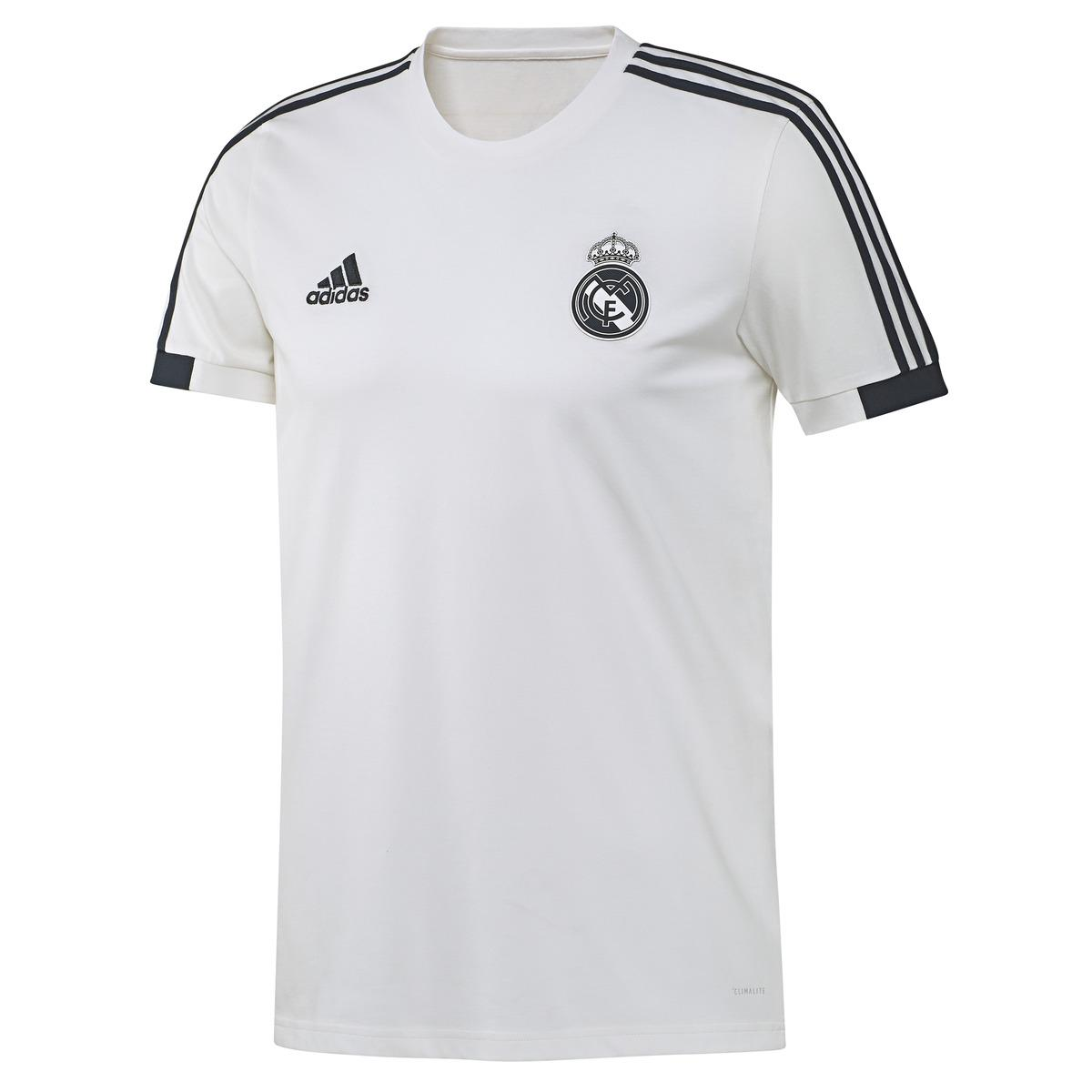 d2b7f89d adidas. Men's White Real Madrid Cf 2018-2019 T-shirt. £31 From El Corte  Ingles