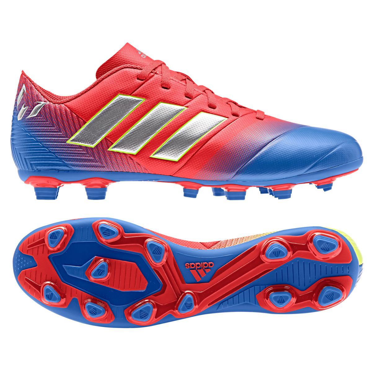2c8ee001a Adidas - Red Nemeziz Messi 18.4 Fxg Football Boots for Men - Lyst. View  fullscreen
