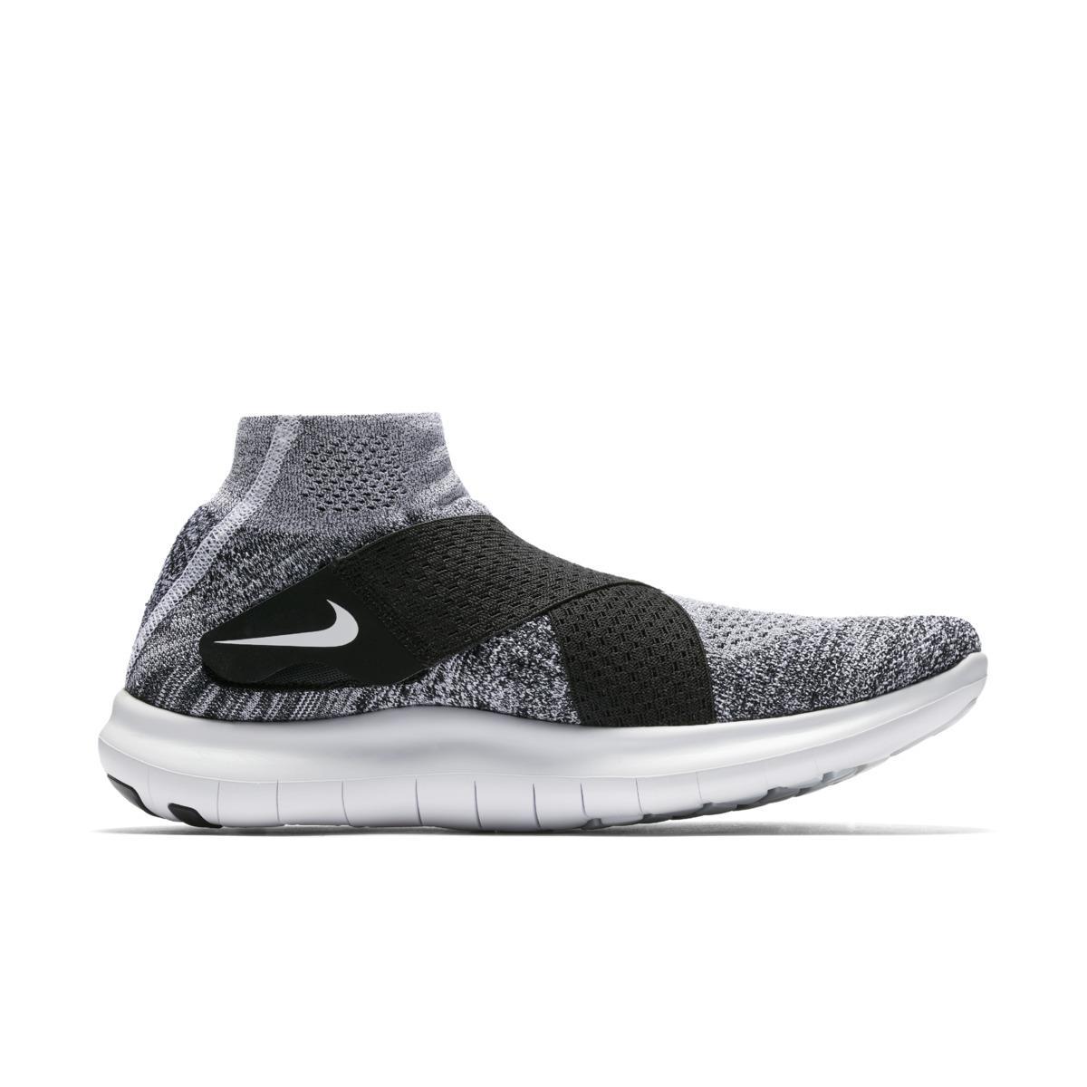 c4c808424a5b4 Nike - Black Free Rn Motion Flyknit 2017 Men s Running Shoe for Men - Lyst