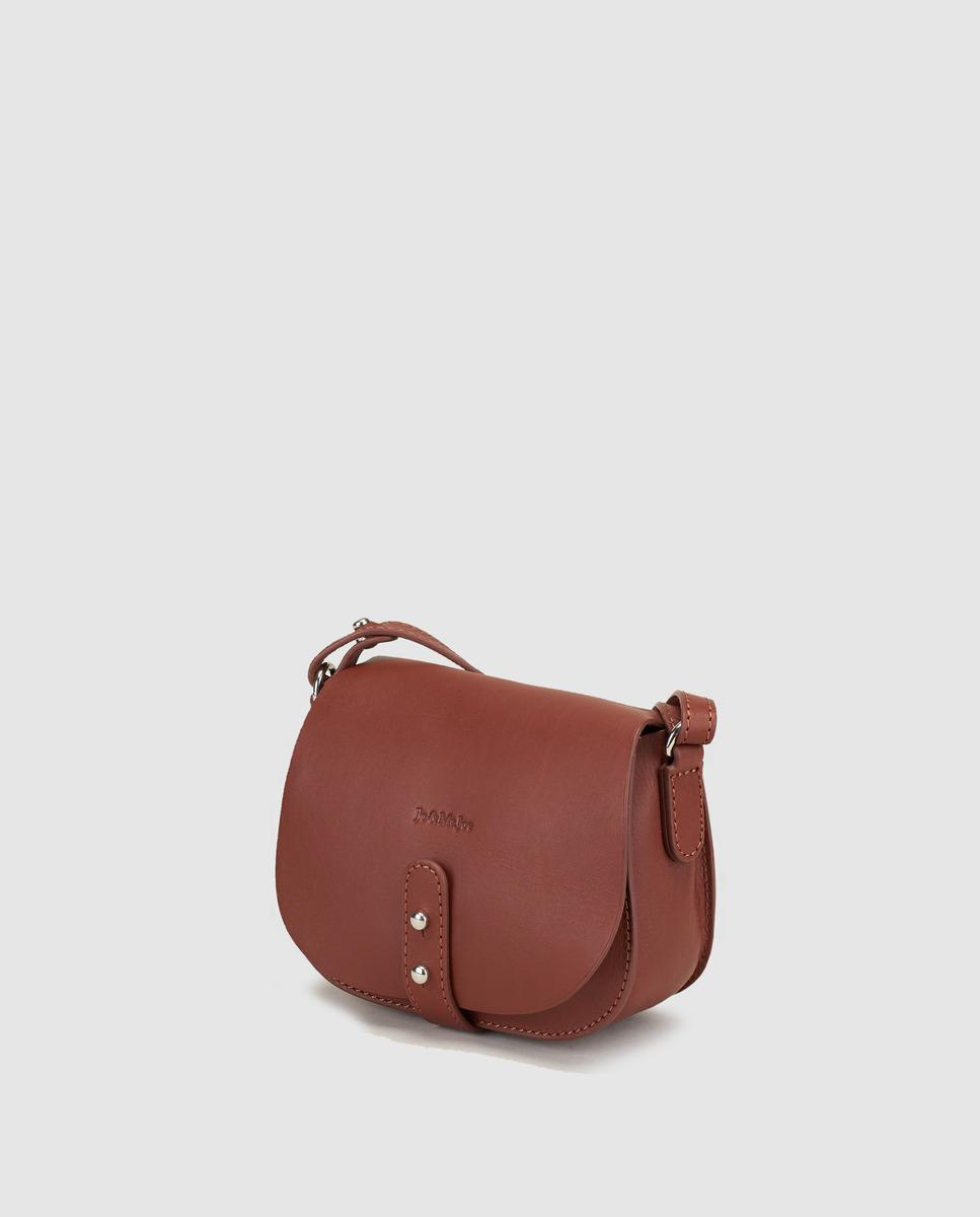 Lyst Jo Amp Mr Joe Little Joy Brown Leather Mini