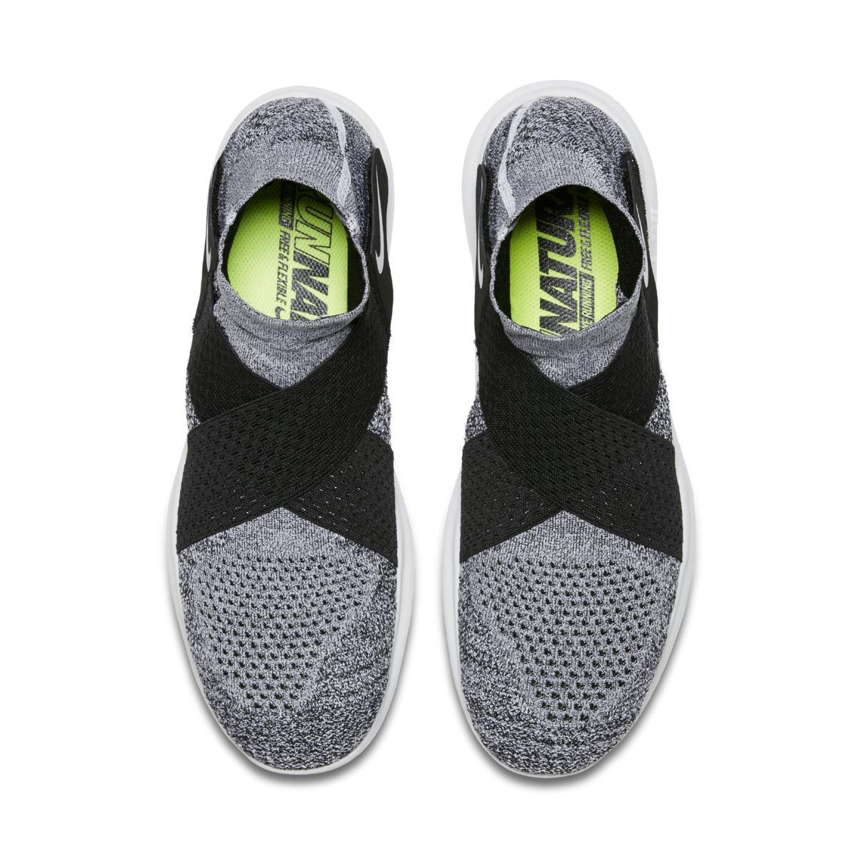 cf1ab436fd48 Nike - Black Free Rn Motion Flyknit 2017 Men s Running Shoe for Men - Lyst