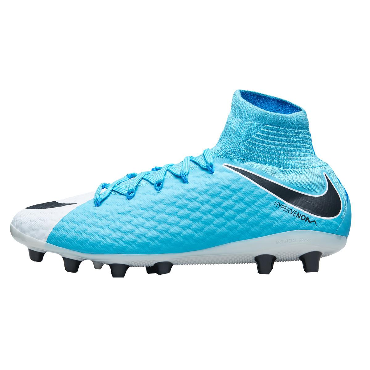 9222b11cb7ea Nike Hypervenom Phatal Iii Dynamic Fit Ag-pro Football Boots in Blue ...
