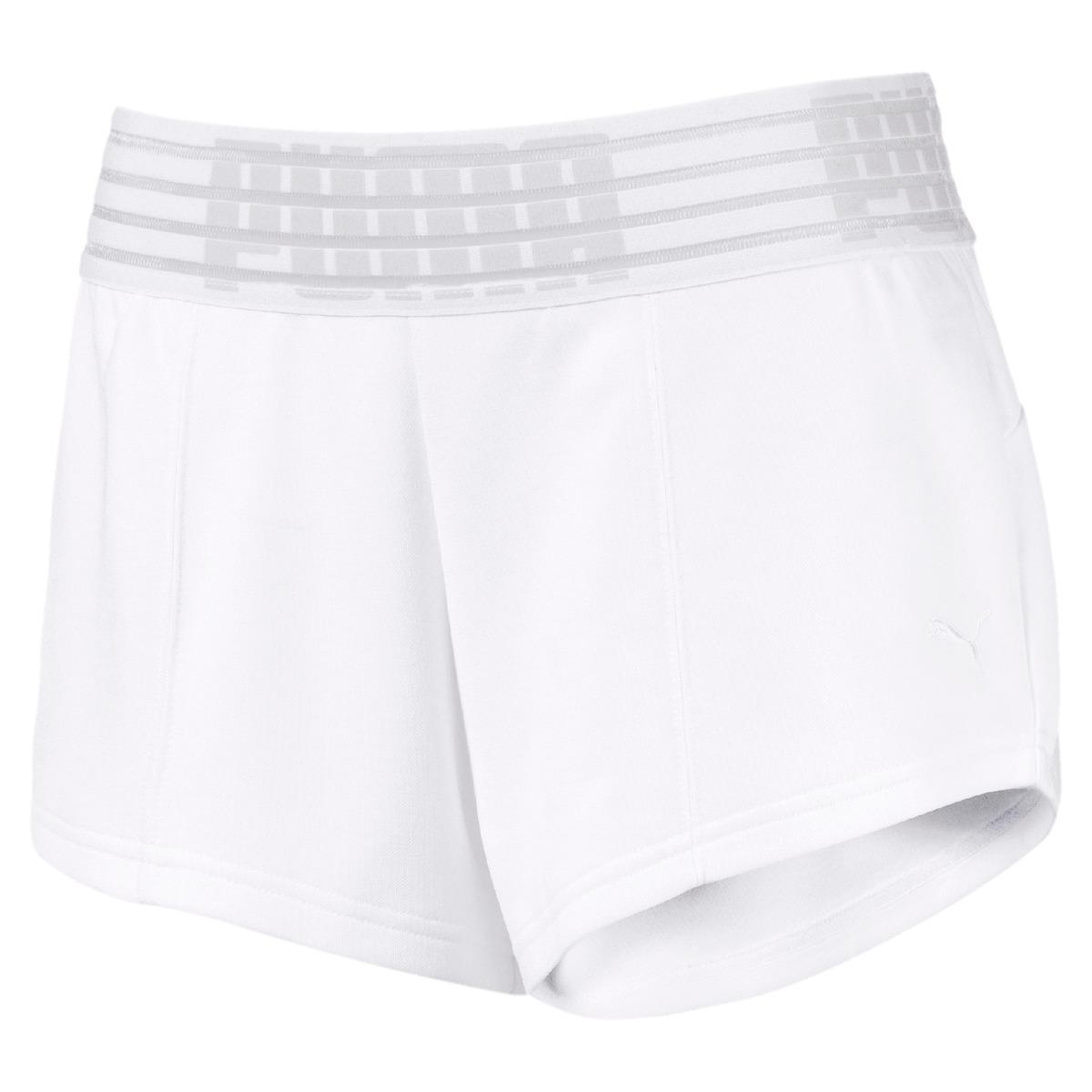 320e52e4017a Lyst - Puma Fusion Shorts in White