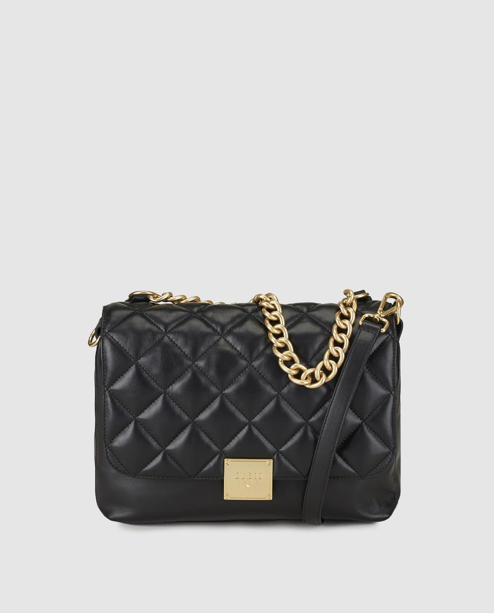 Guess Women S Black Handbag With Two Handles