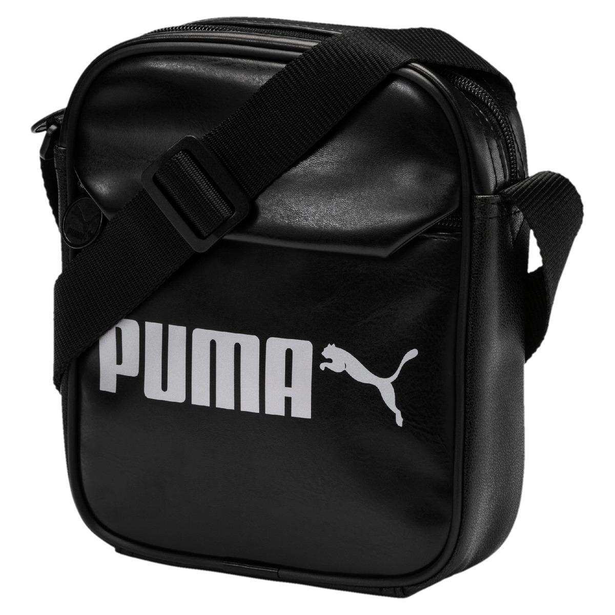 PUMA Campus Portable Bag in Black for Men - Lyst 7839041914a0a