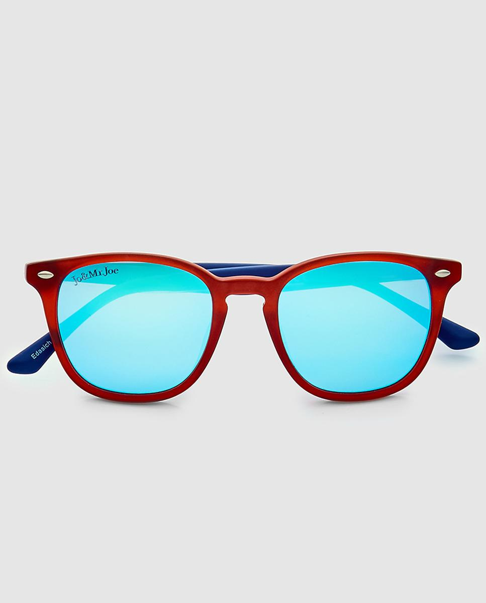 Lyst - Jo & Mr. Joe Wo Sunglasses With Red Pantos Frame in Blue