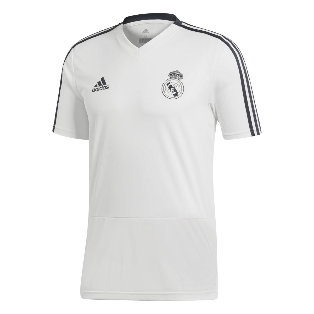 6182ae0e adidas Real Madrid Cf 2018-2019 Training Shirt in White for Men - Lyst