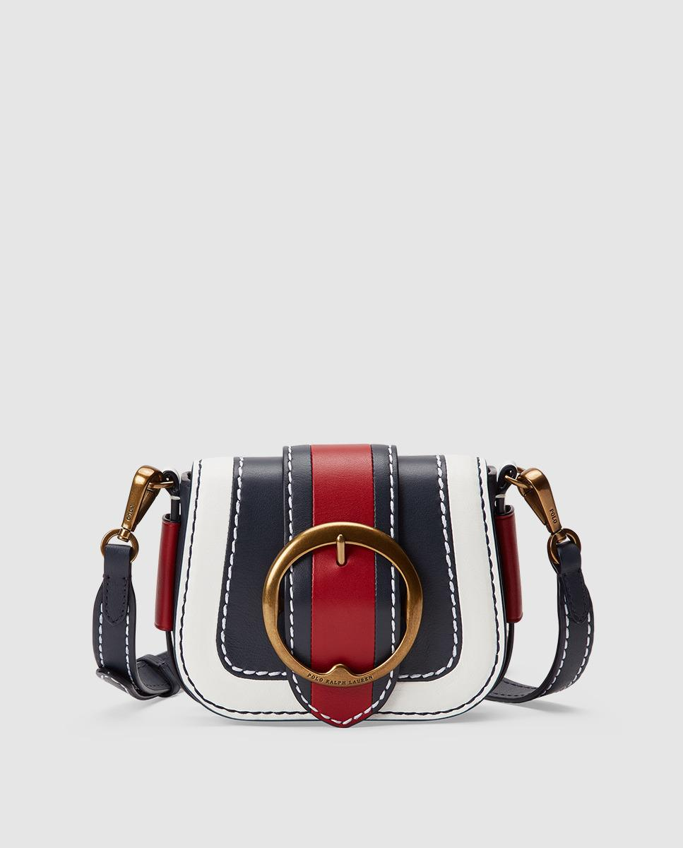 9f6c4de65449 Polo Ralph Lauren. Women s Colour Block Leather Mini Crossbody Bag In ...