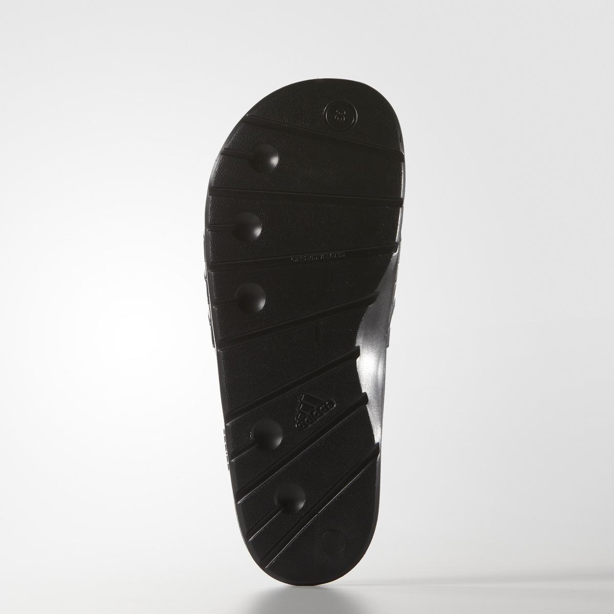 bb01c2545 Adidas - Black Duramo Unisex Swimming Sandals for Men - Lyst. View  fullscreen