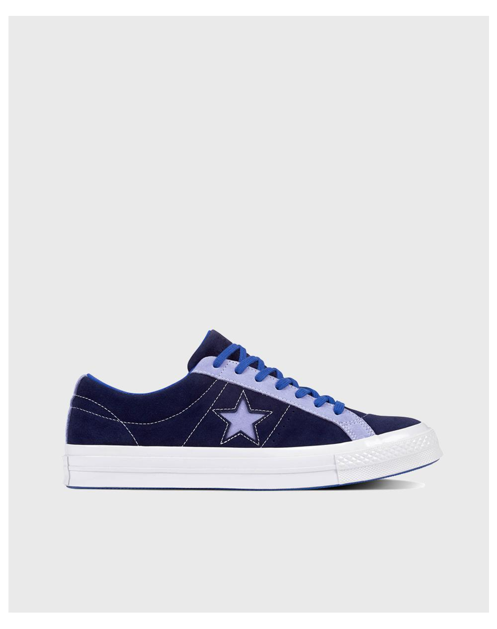 a7c58e24c7d Lyst - Converse One Star Carnival Ox Unisex Casual Trainers in Blue ...