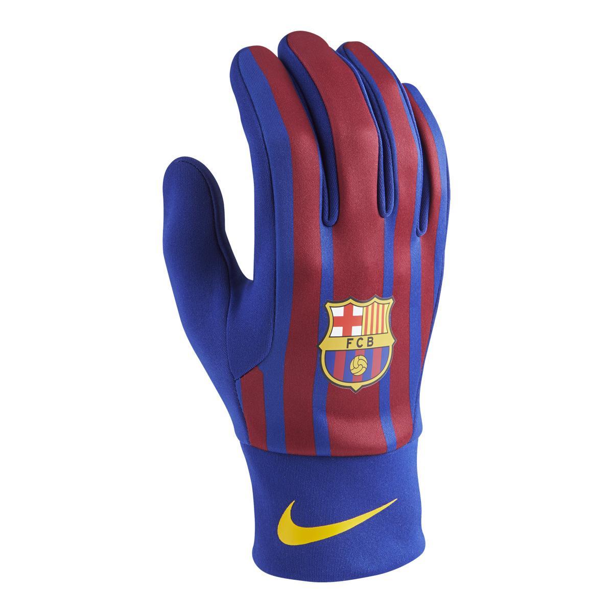 Nike. Men's Blue Fc Barcelona Stadium Gloves
