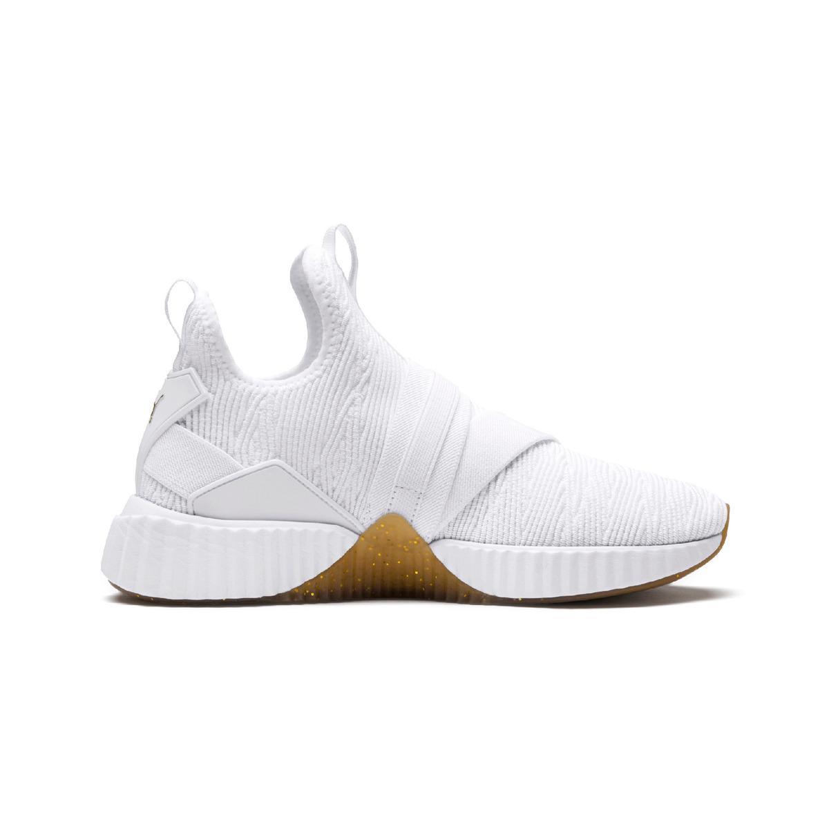 9c1e36a6e89 PUMA Defy Mid Varsity Fitness cross Training Shoes in White - Lyst