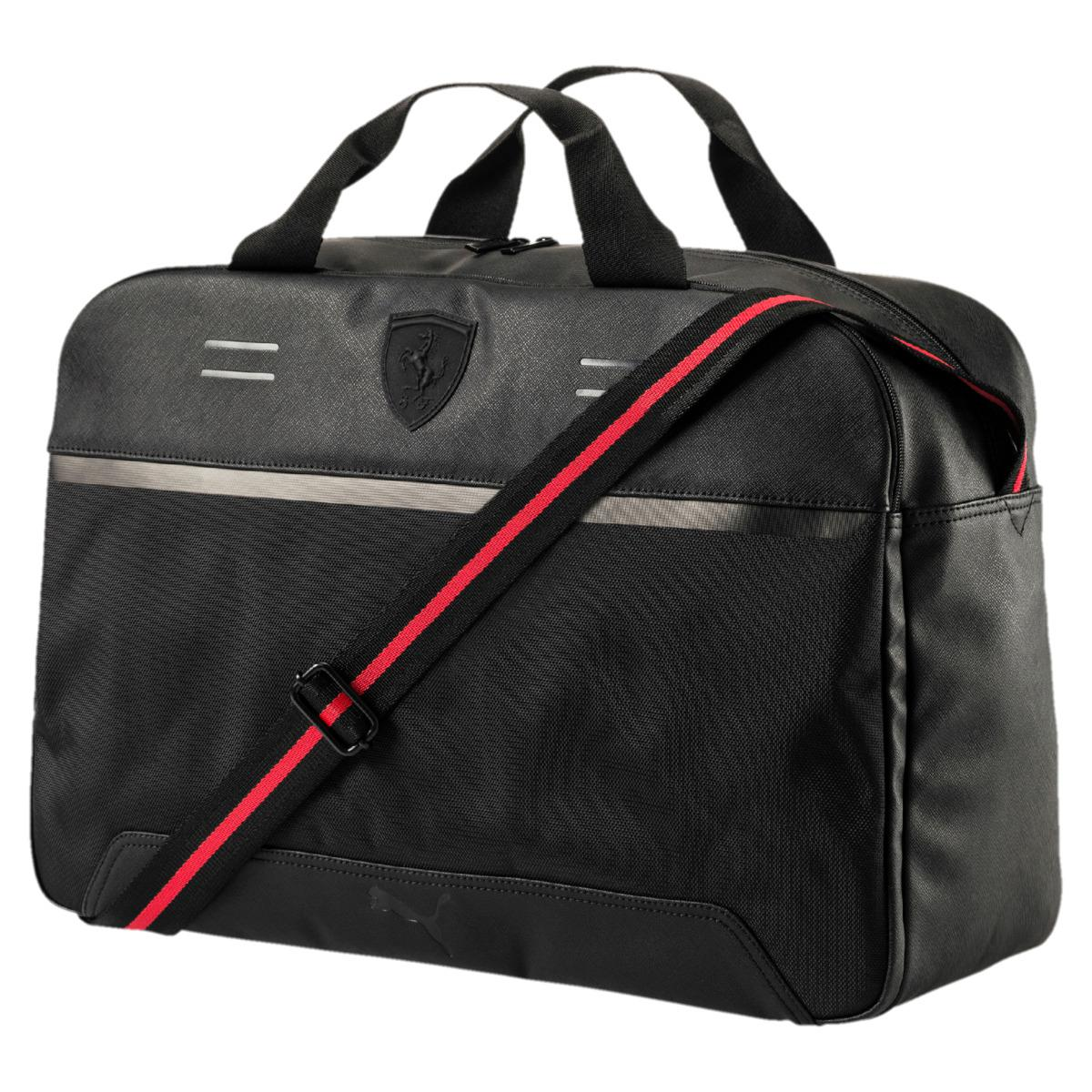 499d368a237a Puma Ferrari Ls Weekender Sports Bag in Black for Men - Lyst