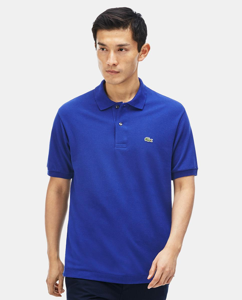 fe40583a3f5d Lyst - Lacoste Mens Blue Short Sleeve Polo Shirt in Blue for Men