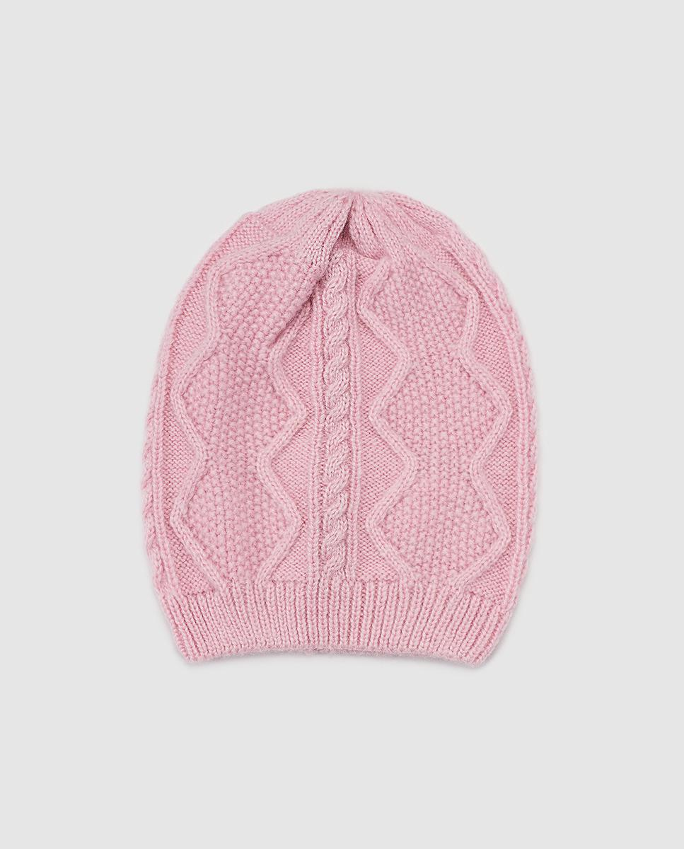El Corte Inglés Pink Knitted Hat in Pink - Lyst a1d486a1cc06