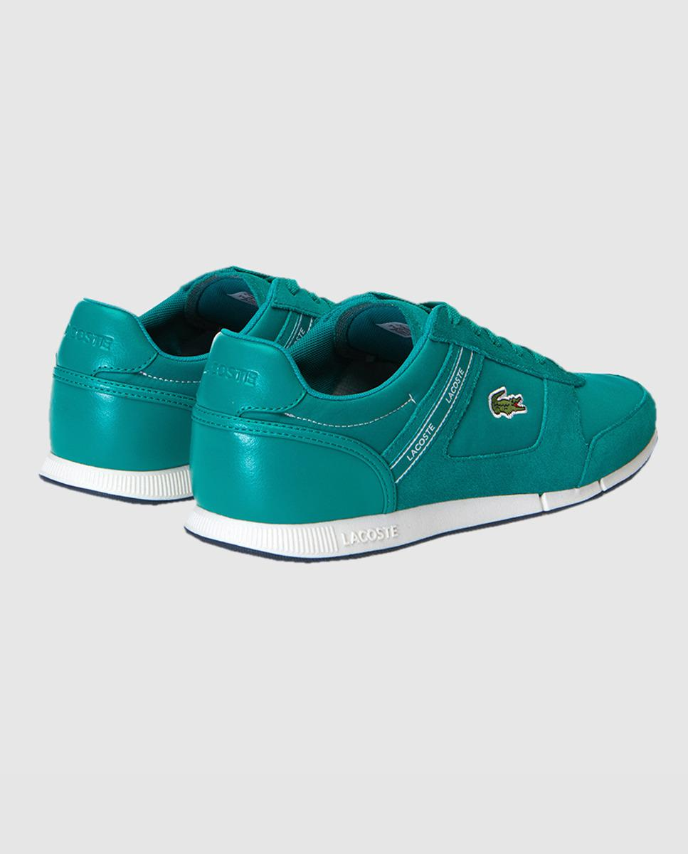856dfa36342cb Lacoste Green Suede Trainers With Logo. Available Online Only. in Green for  Men - Lyst