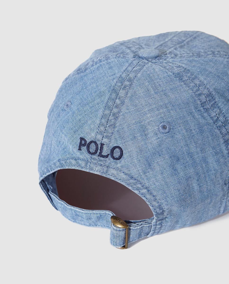 04db34d7257028 Lyst - Polo Ralph Lauren Mens Blue Baseball Cap in Blue for Men