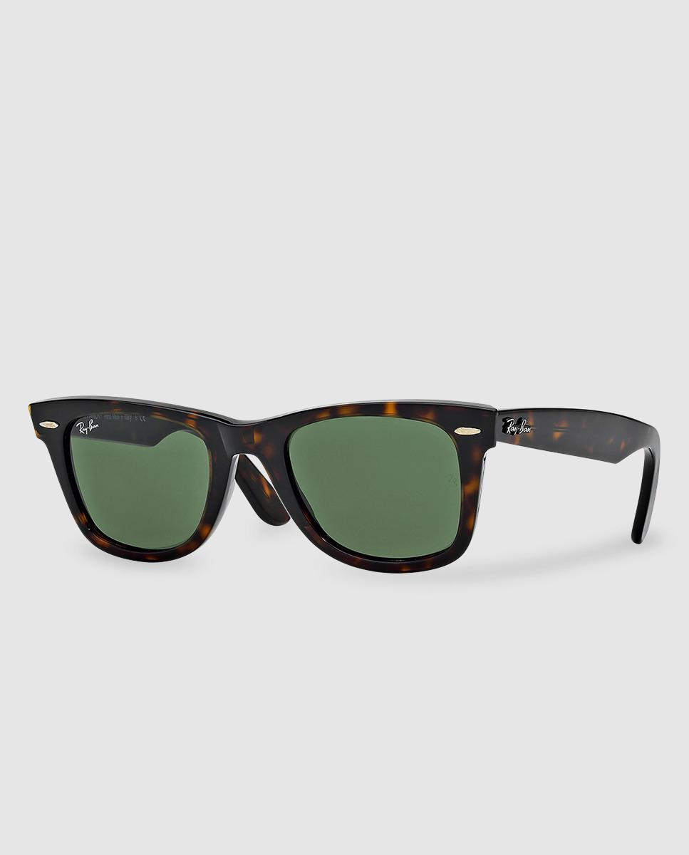 9dd391c519a Ray-Ban Wayfarer Green Sunglasses in Brown for Men - Lyst