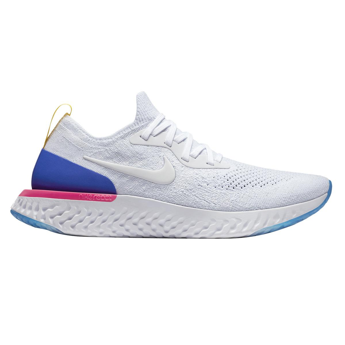 Nike. Men's Blue Epic React Flyknit Running Shoes
