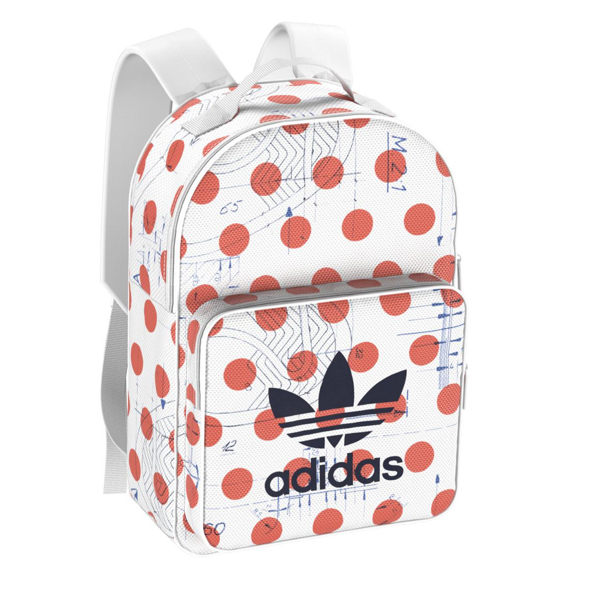 15d90f696b Lyst - adidas Originals Dots Classic Backpack in Red