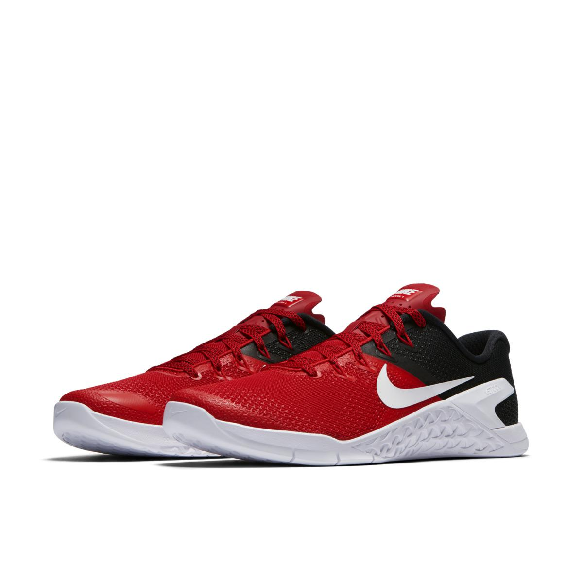 7c65b365c3e60 Nike Metcon 4 Training Shoes in Red for Men - Lyst