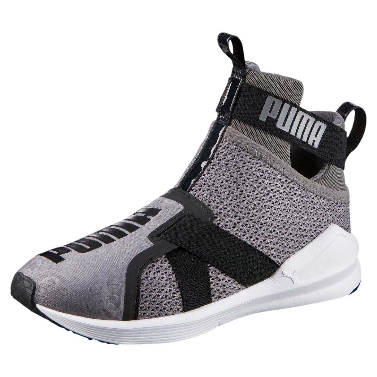 86a1a10520b Lyst - PUMA Fierce Strap Quiet Shade Fitness cross Training Shoes in ...