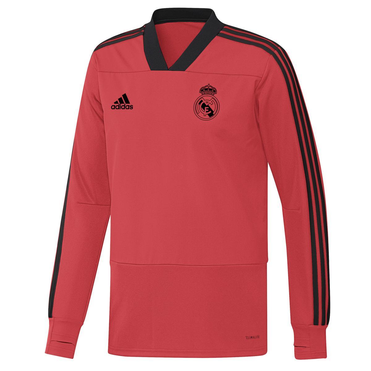9ba49a043 Adidas - Red Real Madrid Cf 2018-2019 Ultimate Training Sweatshirt for Men  - Lyst. View fullscreen