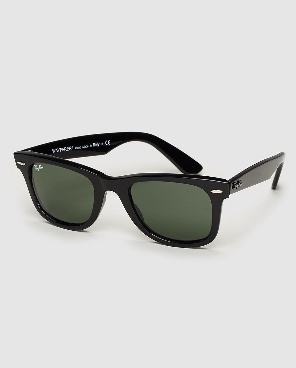 21d0c73a3c Lyst - Ray-Ban Wayfarer Unisex Grey Sunglasses in Black for Men