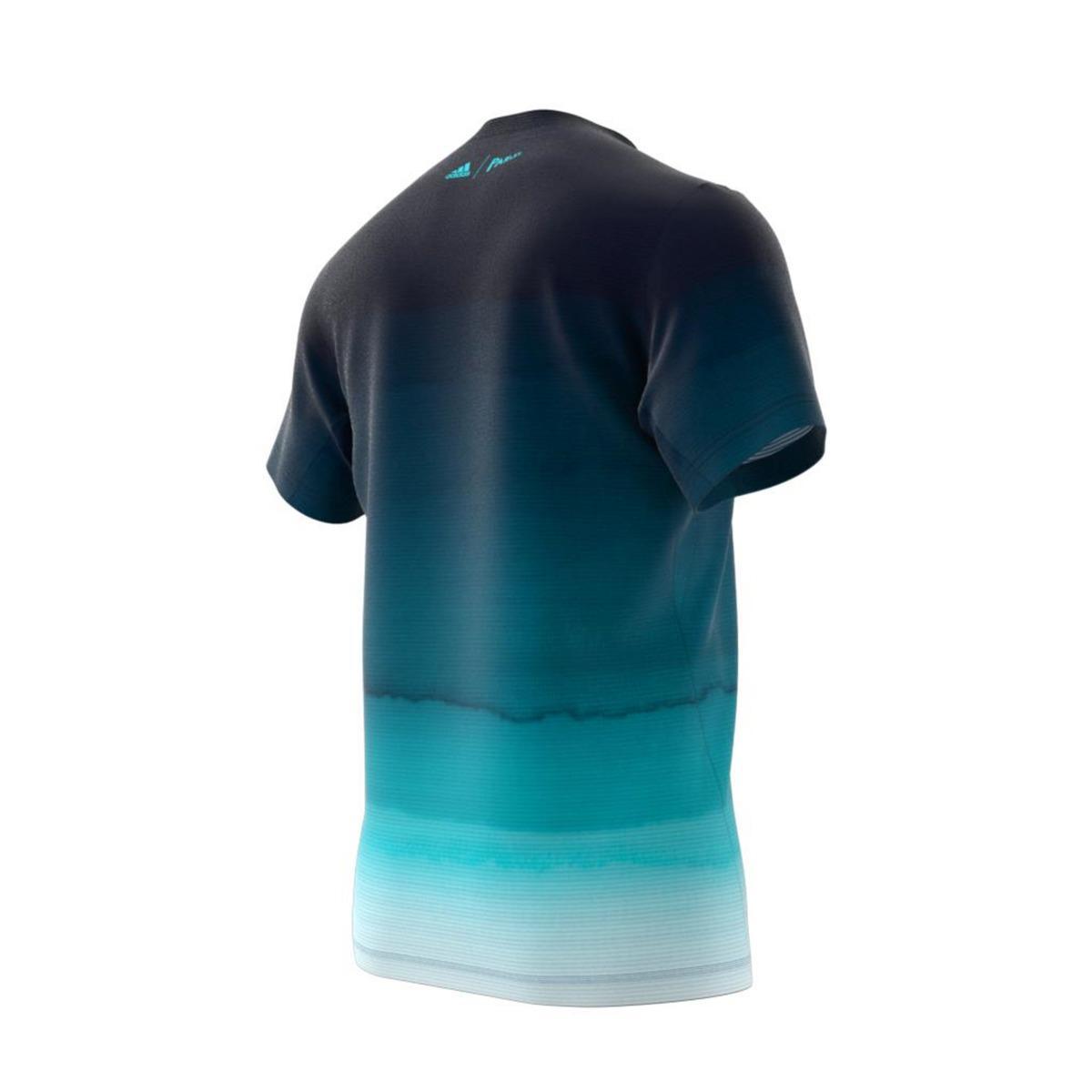 d74fe6e7173 Adidas - Blue Parley T-shirt for Men - Lyst. View fullscreen