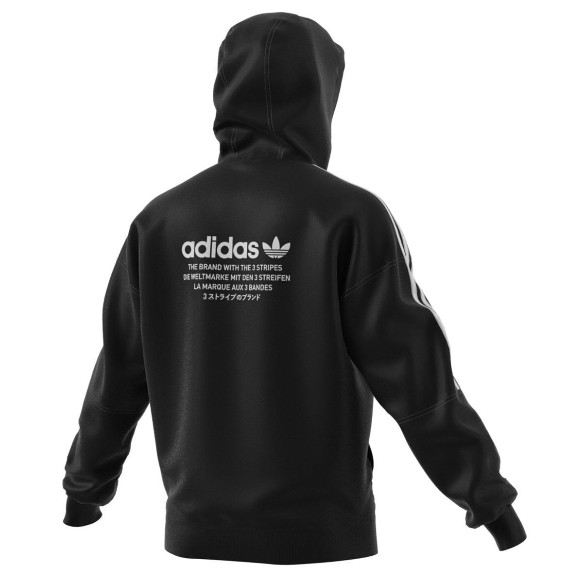 4ce9290560bd0 adidas Originals Nmd Sweatshirt in Black for Men - Lyst