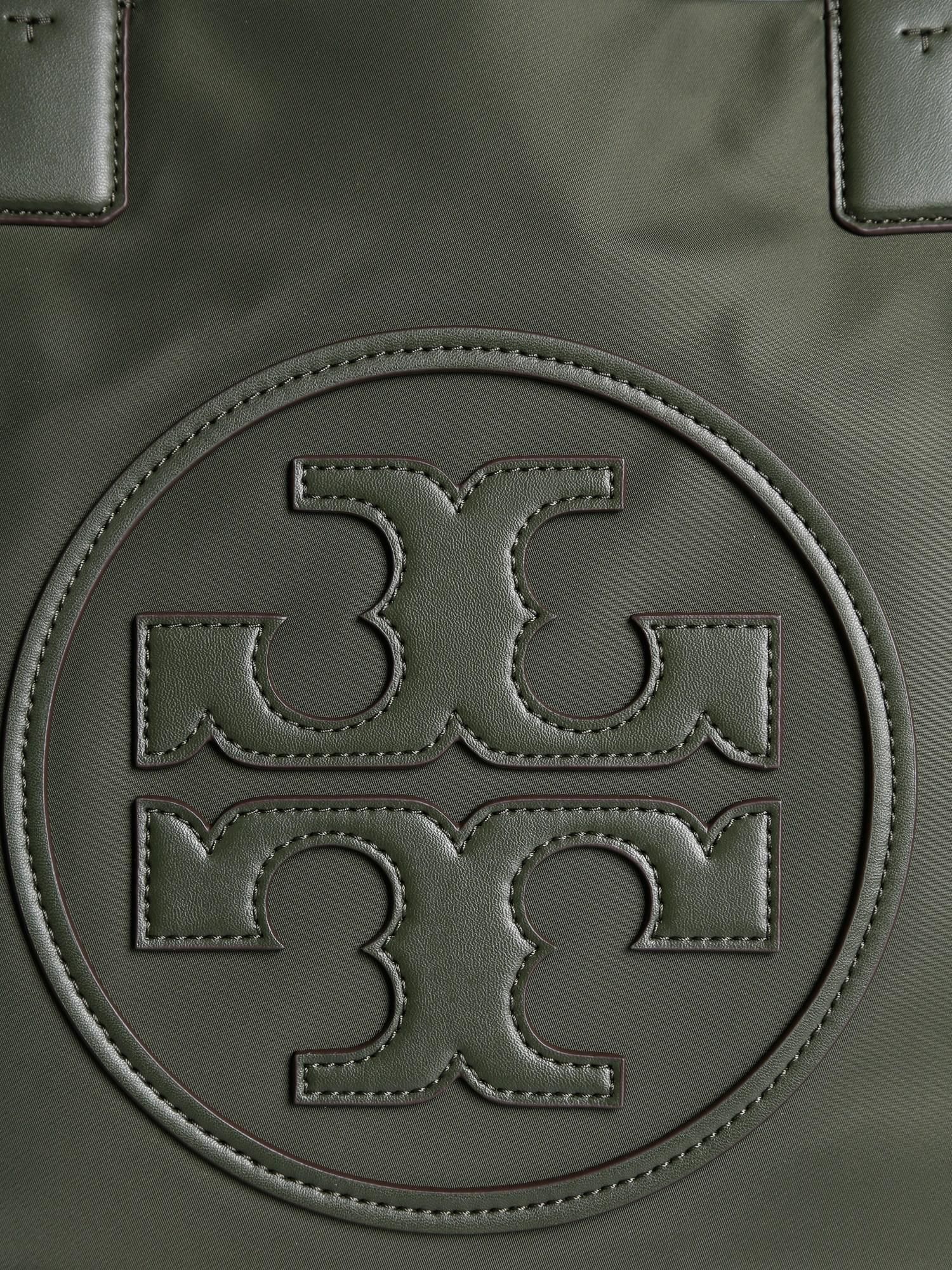 cfc8817045d9 Tory Burch Ella Tote Bag In Technical Fabric in Green - Lyst