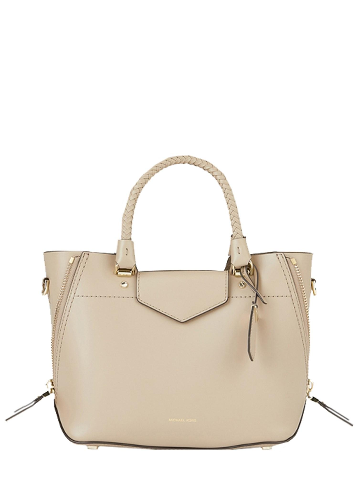 451a118f52 Lyst - MICHAEL Michael Kors Borsa A Mano Blakely In Pelle in Natural