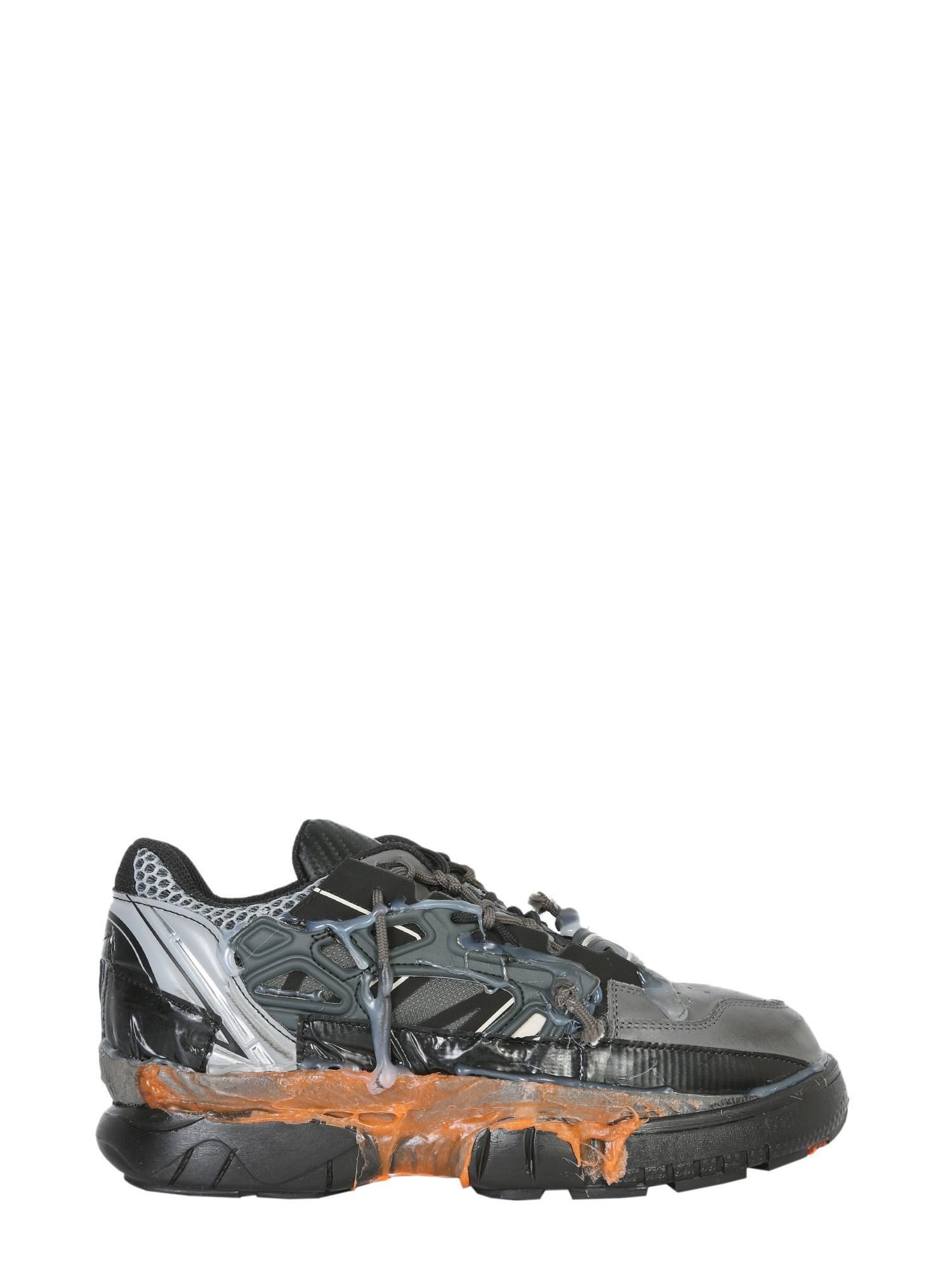 6c26d084861b0 Maison Margiela Low-top Fusion Leather Sneaker for Men - Lyst